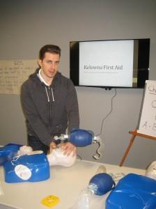 First Aid Certification in Kelowna