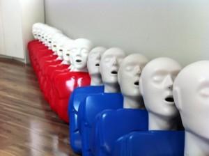 Training mannequins